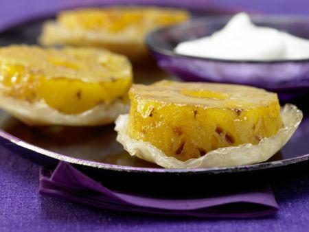Kleine Ananas-Tartes