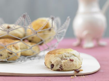 Kleine Cranberry-Kuchen