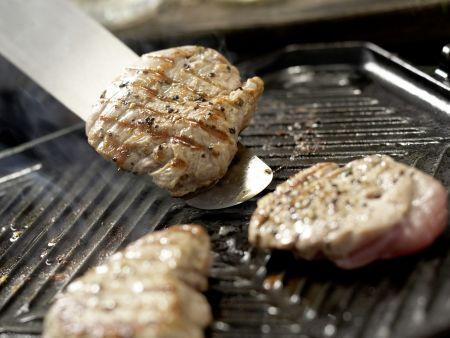 Kleine Kalbsrückensteaks und Thunfisch: Zubereitungsschritt 9
