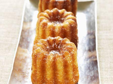 Kleine Kuchen auf französische Art
