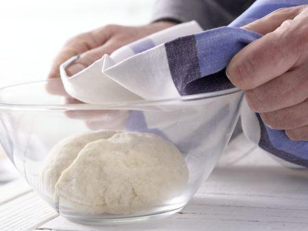 Kleine Osterkränze: Zubereitungsschritt 4