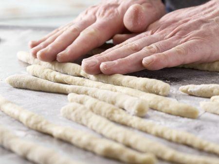 Kleine Osterkränze: Zubereitungsschritt 5