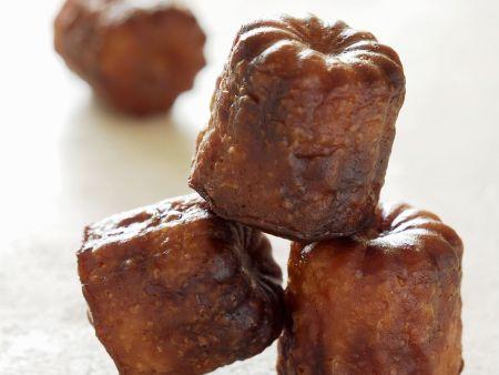 Kleiner Rumkuchen auf französische Art