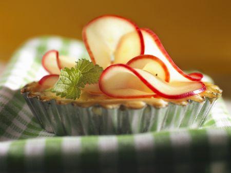 Kleines Apfeltörtchen