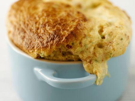Rezept: Kleines Käsesoufflee