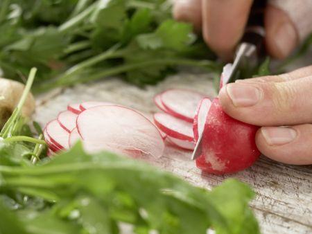 Knackiger Salat nach Thai-Art: Zubereitungsschritt 1