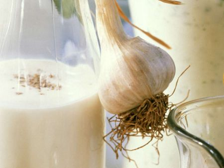 Knoblauch-Dressing