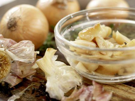 Knoblauchsuppe: Zubereitungsschritt 3