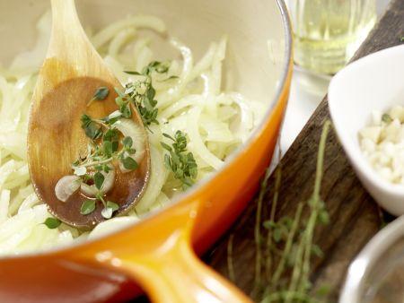 Knoblauchsuppe: Zubereitungsschritt 6