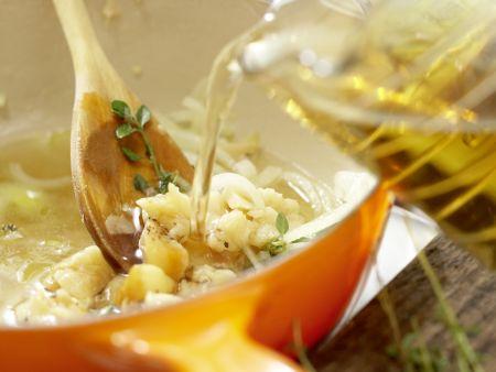 Knoblauchsuppe: Zubereitungsschritt 7