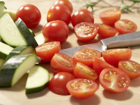 Knusprige Brotecken in Olivenöl: Zubereitungsschritt 4