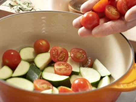 Knusprige Brotecken in Olivenöl: Zubereitungsschritt 6