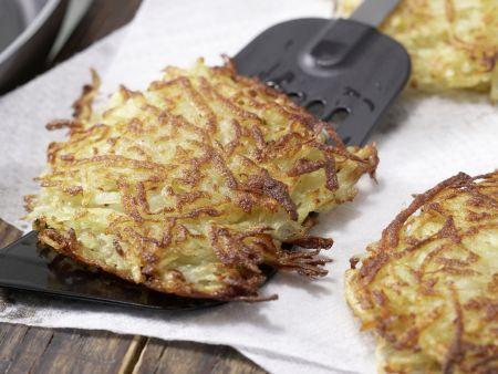 Knusprige Kartoffelrösti: Zubereitungsschritt 5