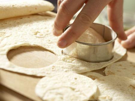 Knusprige Tortilla-Happen: Zubereitungsschritt 1