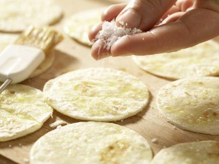 Knusprige Tortilla-Happen: Zubereitungsschritt 2