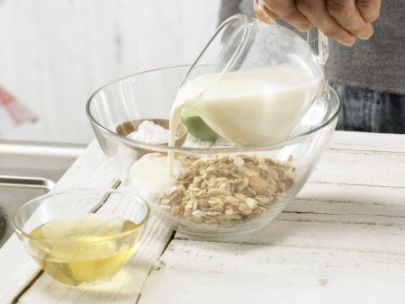 Knuspriges Buttermilchbrot: Zubereitungsschritt 1