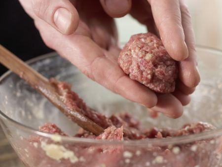 Karlssons Köttbullar: Zubereitungsschritt 4