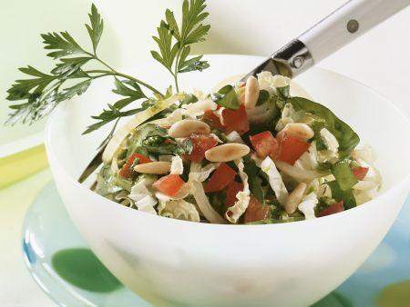 Kohl-Spinatsalat