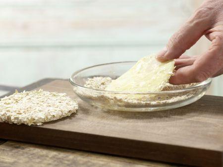 Kohlrabi-Taler mit Walnuss-Dip: Zubereitungsschritt 5