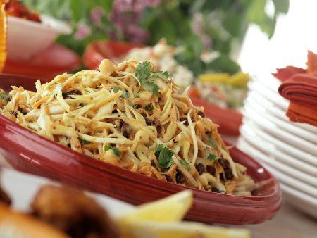 Kohlsalat mit Sprossen