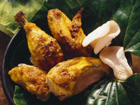 Kokos-Gewürzhähnchen