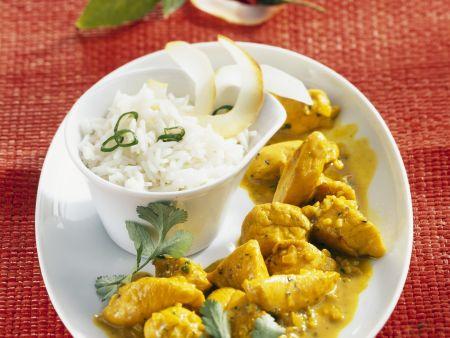 Kokos-Hähnchen-Curry