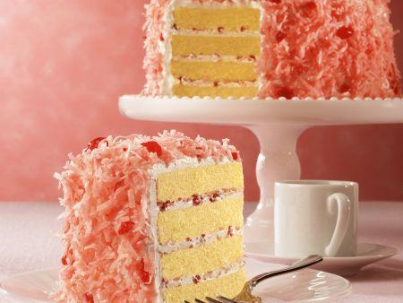 Kokos-Kirsch-Torte