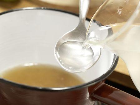 Kokos-Limetten-Eis: Zubereitungsschritt 1