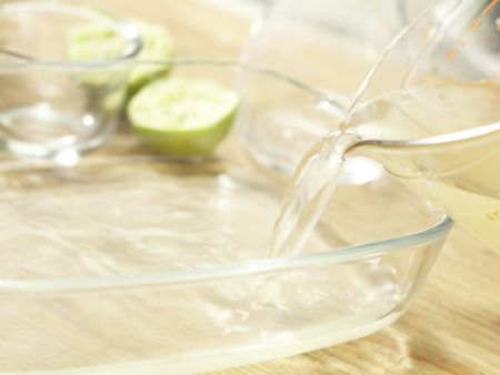 Kokos-Limetten-Eis: Zubereitungsschritt 3