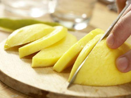 Kokos-Limetten-Eis: Zubereitungsschritt 5