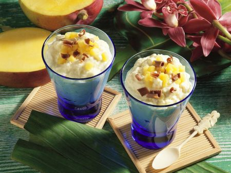 Rezept: Kokos-Mango-Quark