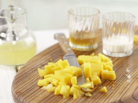 Kokos-Mango-Quark: Zubereitungsschritt 1