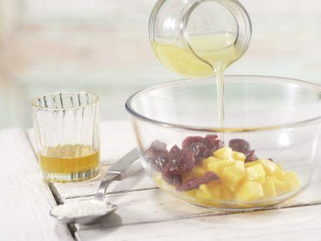 Kokos-Mango-Quark: Zubereitungsschritt 2