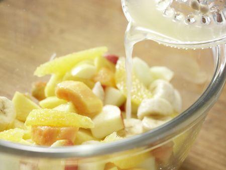 Kokos-Milchreis mit Obstsalat: Zubereitungsschritt 5