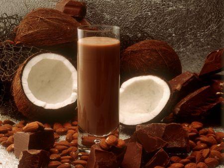 Kokos-Schokomilch