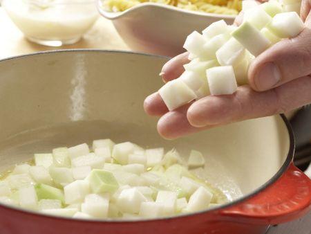 Konfettigemüse mit Nudeln: Zubereitungsschritt 2
