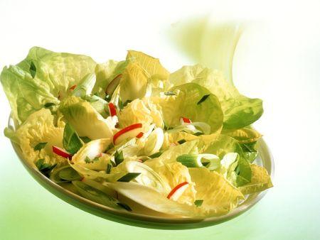 Rezept: Kopfsalat mit Radieschen