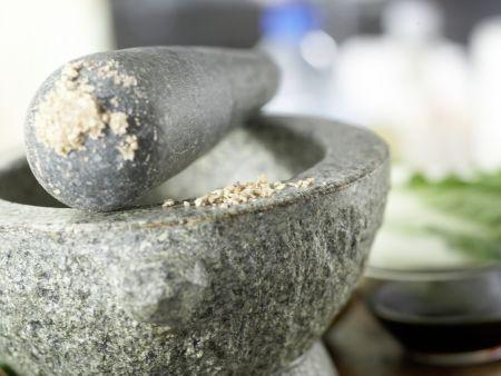 Koreanischer Pfannkuchen: Zubereitungsschritt 1
