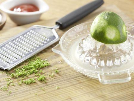 Kotelett mit Chinagemüse: Zubereitungsschritt 10