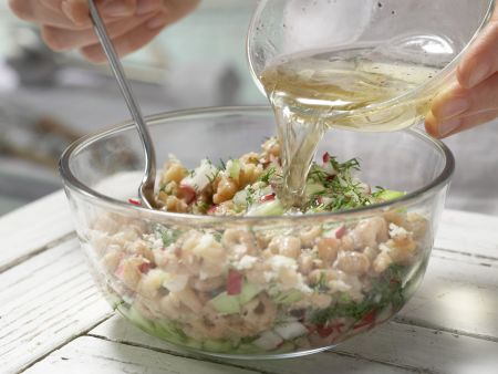 Krabben-Vinaigrette: Zubereitungsschritt 6