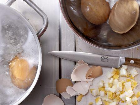 Krabbensalat – smarter: Zubereitungsschritt 1