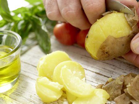 Kräuter-Kartoffel-Salat: Zubereitungsschritt 3