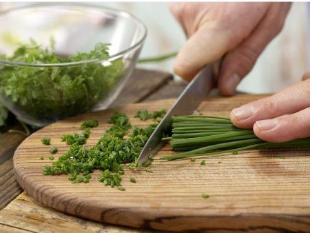 Kräuter-Kartoffel-Suppe: Zubereitungsschritt 5