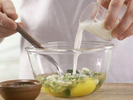 Kräuter-Rührei: Zubereitungsschritt 2