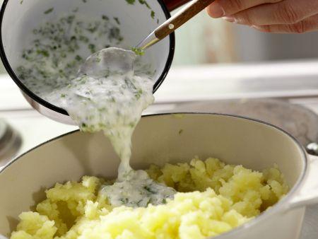 Kräuterkartoffelpüree – smarter: Zubereitungsschritt 6