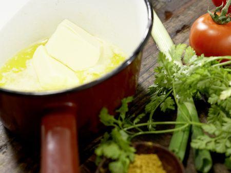 Krebssalat-Türmchen: Zubereitungsschritt 1