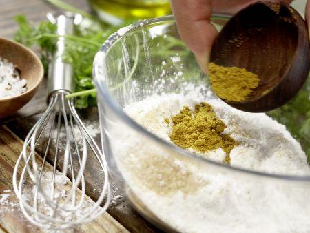 Krebssalat-Türmchen: Zubereitungsschritt 2
