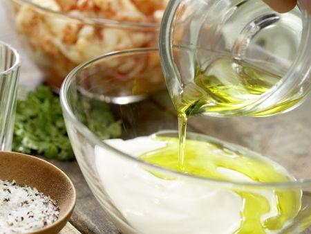 Krebssalat-Türmchen: Zubereitungsschritt 6