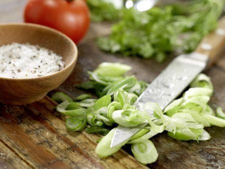 Krebssalat-Türmchen: Zubereitungsschritt 7
