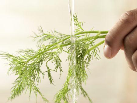 Krebsschwänze auf Möhrengemüse: Zubereitungsschritt 4